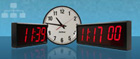 Netværk Clock Display